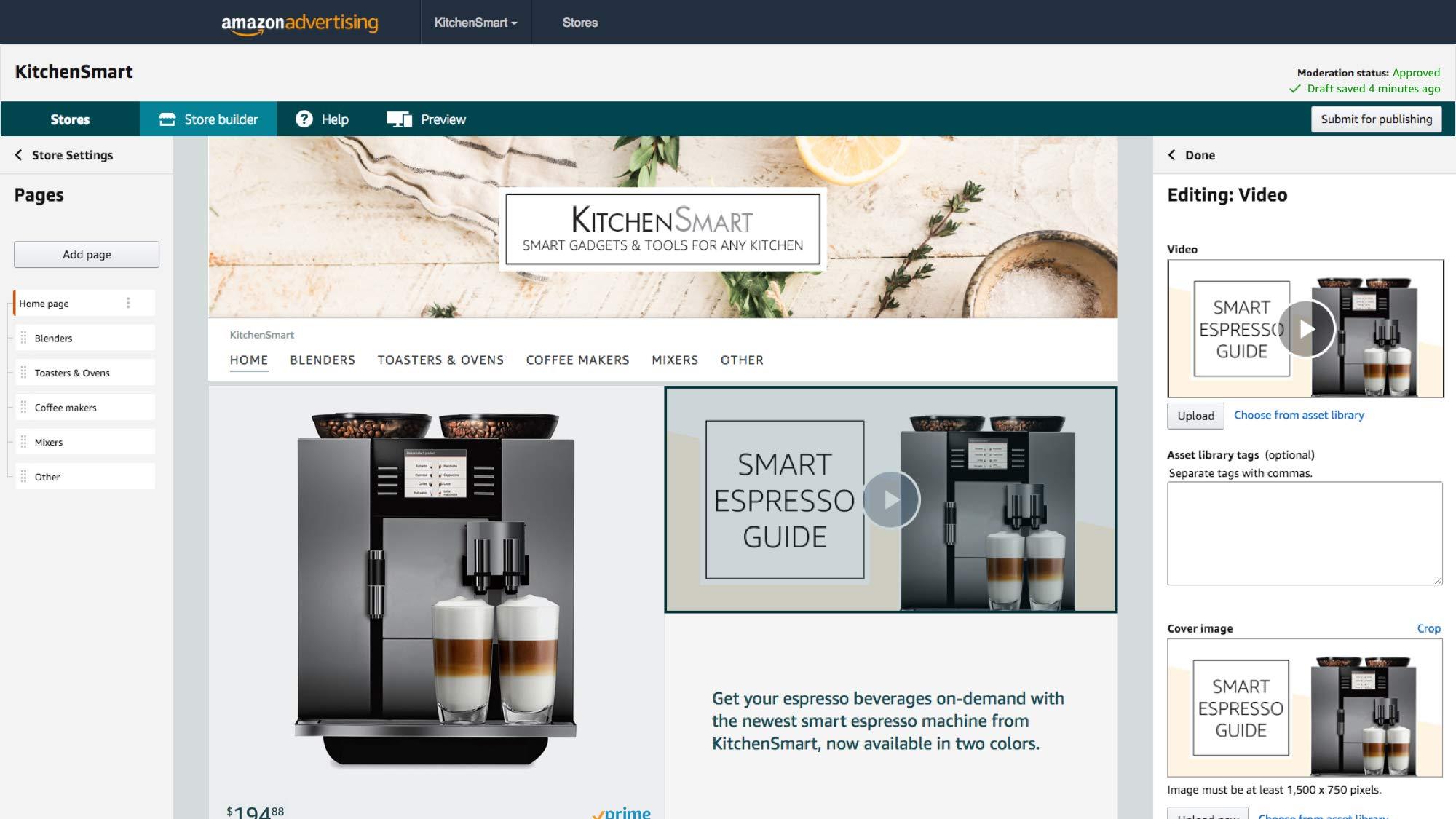 Amazon Custom Store